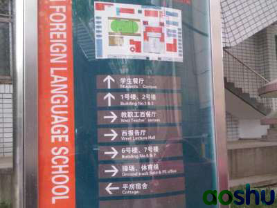 济南外国语校园简图