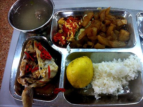 苏州外国语学校午餐