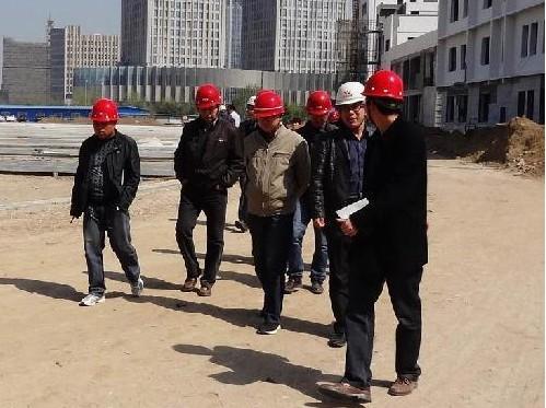 郑州实验高中体育馆主体结构顺利通过验收
