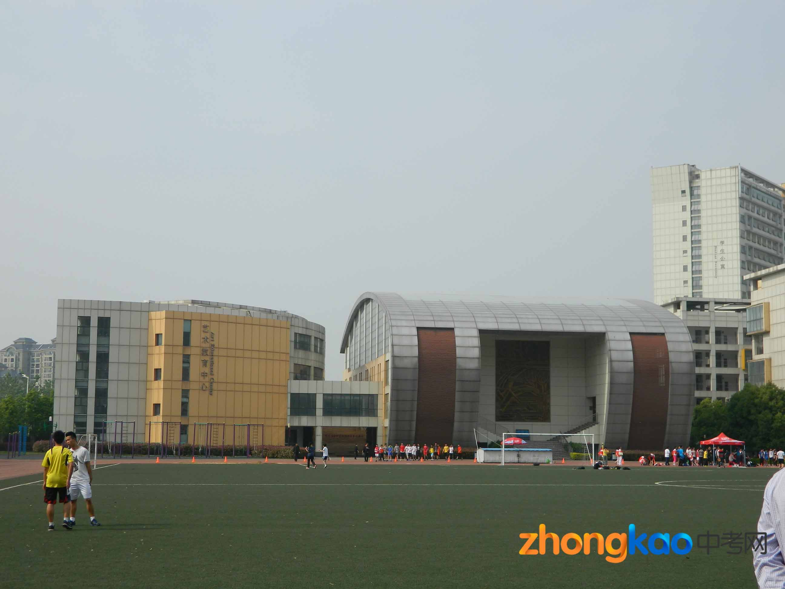 合肥八中校园环境(3)