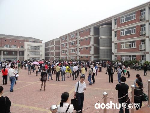 苏州外国语学校考试结束