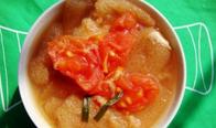 番茄煮竹荪蛋