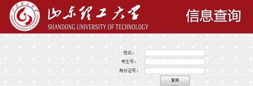 山东理工大学2013高考录取结果查询入口