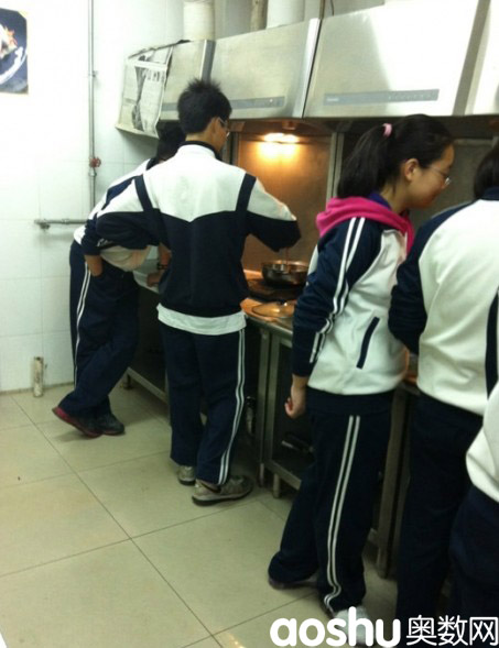 北京四中烹饪课