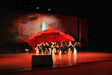 舞蹈《怒放的生命》