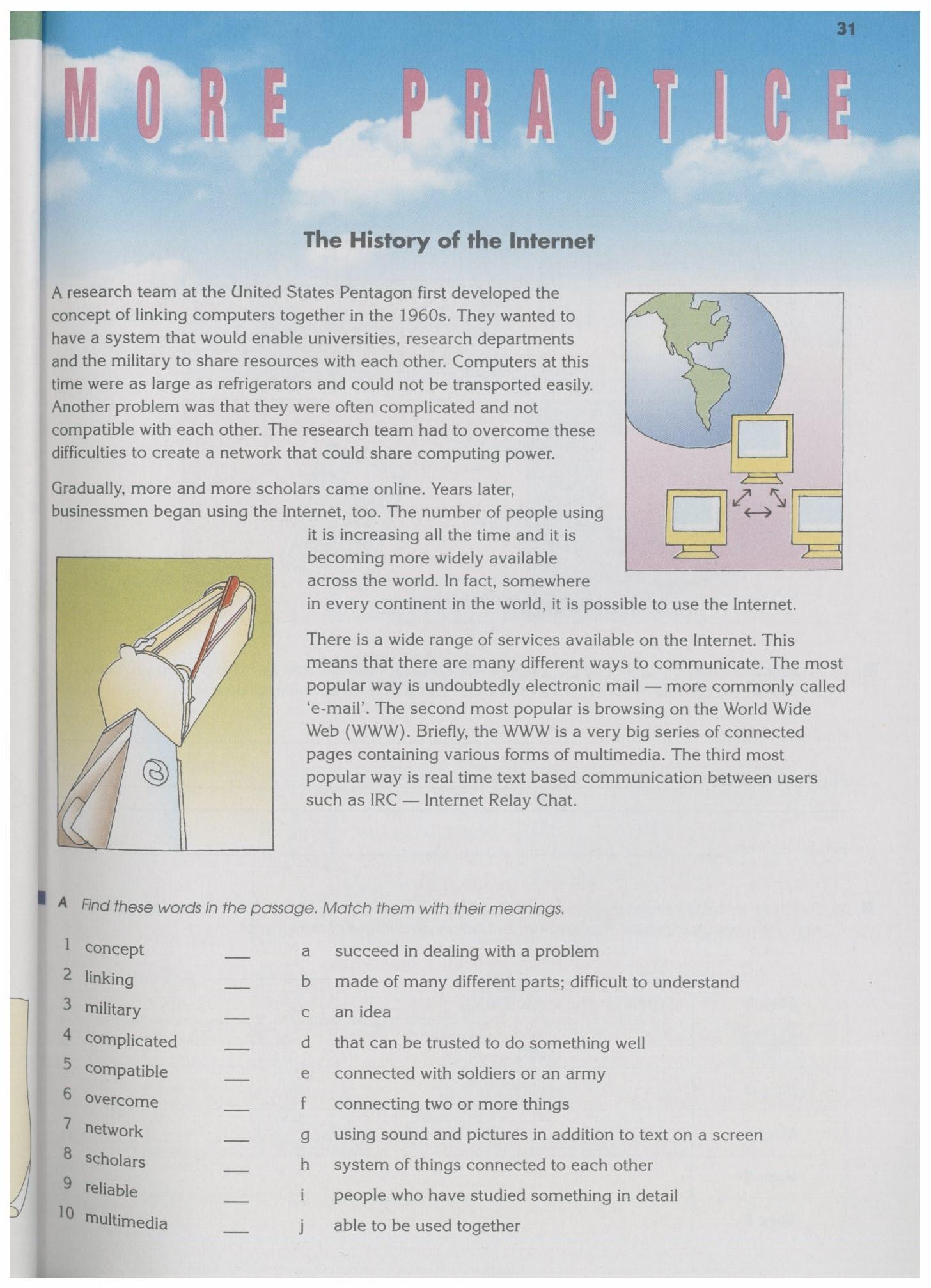 沈阳版牛津英语9A教材Chapter2-More Practice