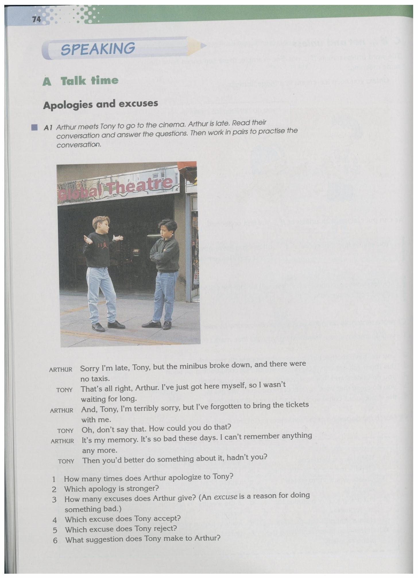 沈阳版牛津英语9A教材Chapter5-Speaking