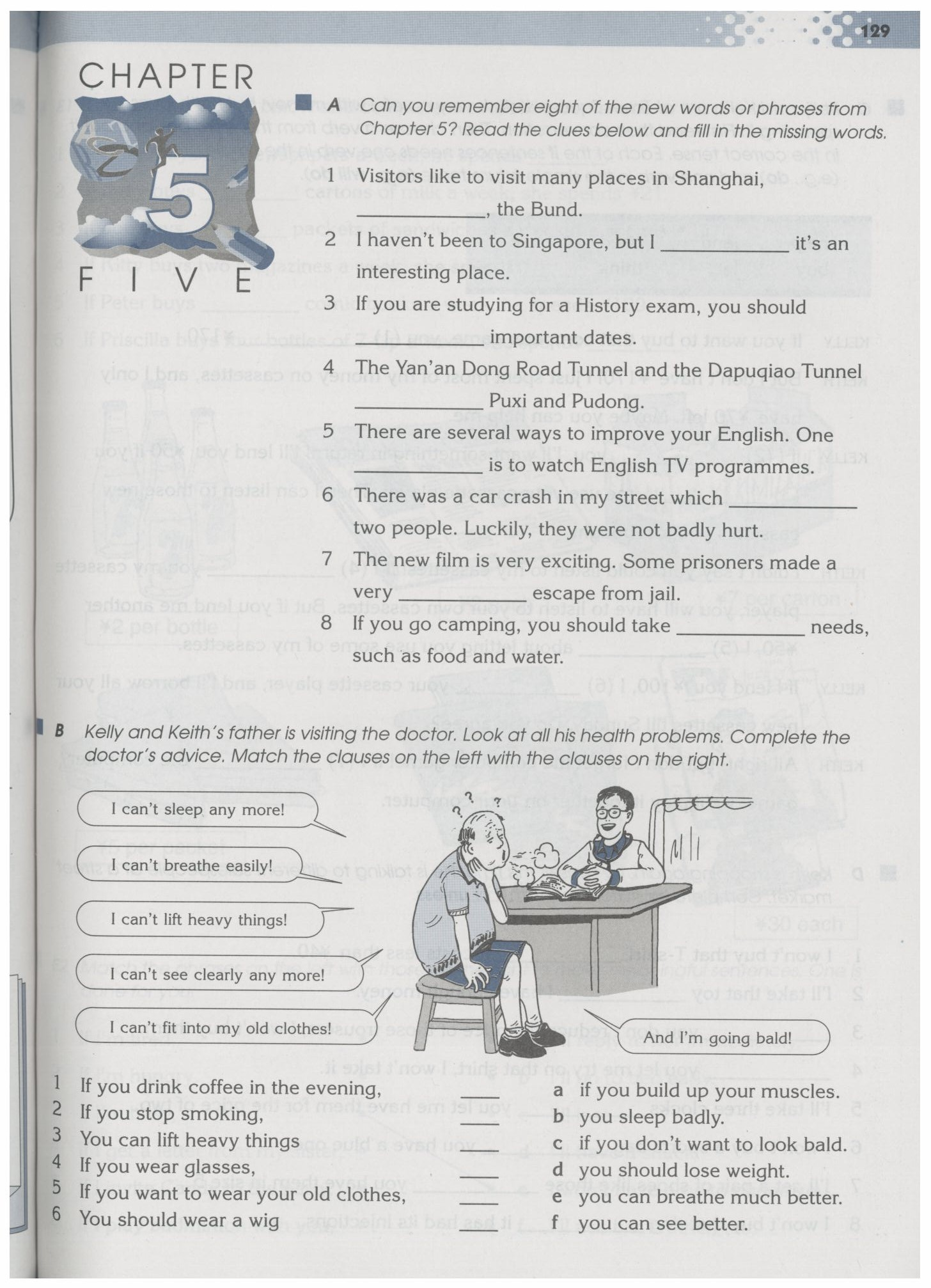 沈阳版牛津英语9A教材Chapter5-Work Book