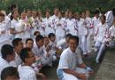 101中学初一年级校园注水仪式总结