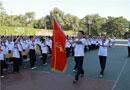 东直门中学初一建队仪式暨军训汇报表演