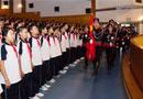 北京市第八十中学2013-2014学年度开学典礼