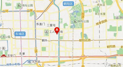 北京八十中地理位置