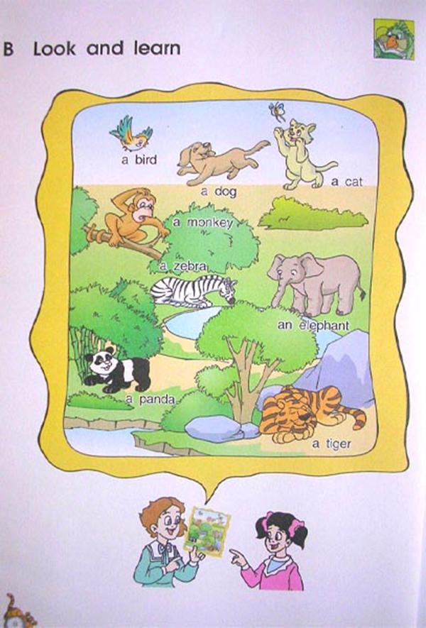 苏教版英语课本三年级上册 Unit1 hello 2