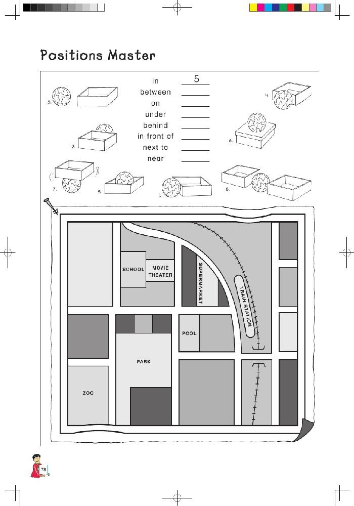 北师大版小学英语四年级英语课本上册:positions master高清图片