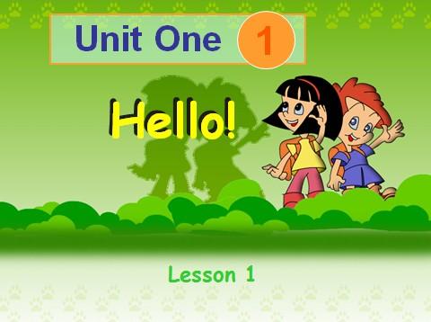 人教版小学三年级英语课件上册:uint