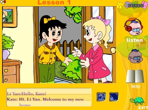 牛津版年级四图片小学英语课件:Lesson1Wel小学二下册算珠年级图片