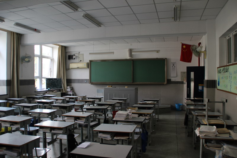 2014年北京101中学v中学现场报道国庆节黑板报高中图片