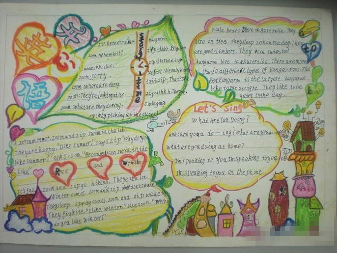 四年级楹联手抄报_学习交流   四年级简单英语手抄报   四年级的数学手