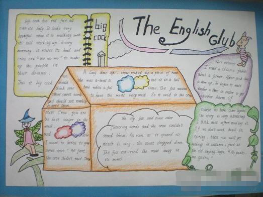 英语单词手抄报六年级【相关词_英语单词手抄报】图片