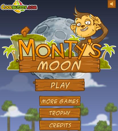 蒙蒂飞上月球