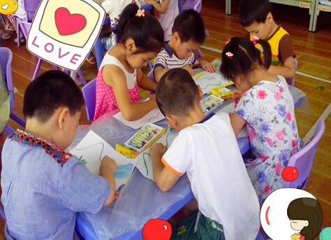 少儿英语课堂游戏:小小绘画家