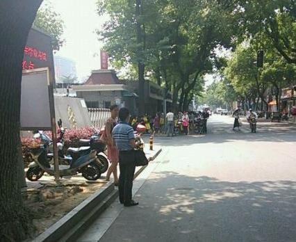 宁波中考现场