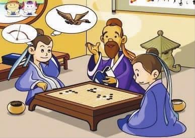看故事学英语单词:专心致志