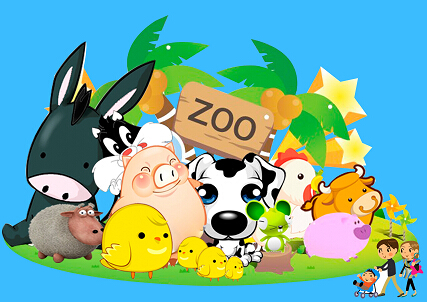 少儿英语情景对话:zoo