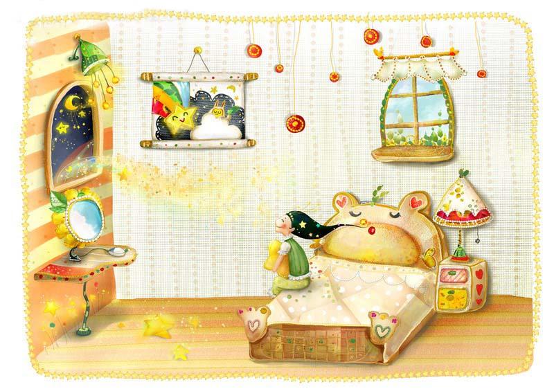 少儿英语单词学习:我的卧室