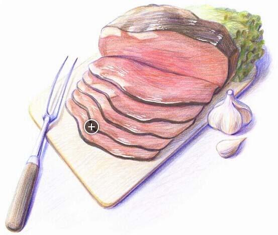 少儿英语单词学习:肉