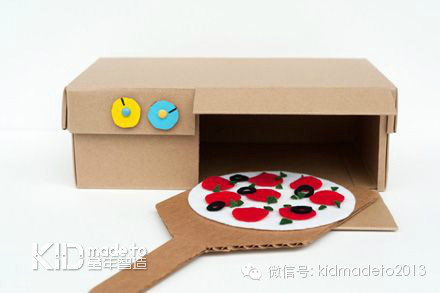 幼儿园鞋盒自制玩具