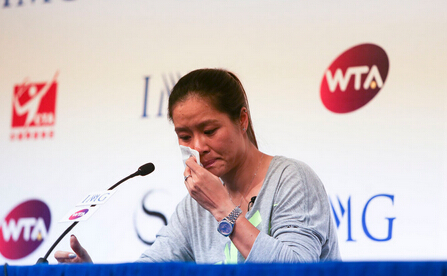 李娜的退役告别信:跟冠军学习英文写作