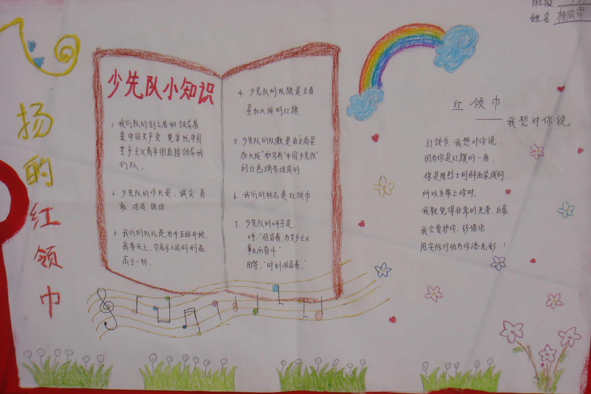 手抄报 > 正文        每逢六一儿童节,少先队都要举行隆重的入队仪式