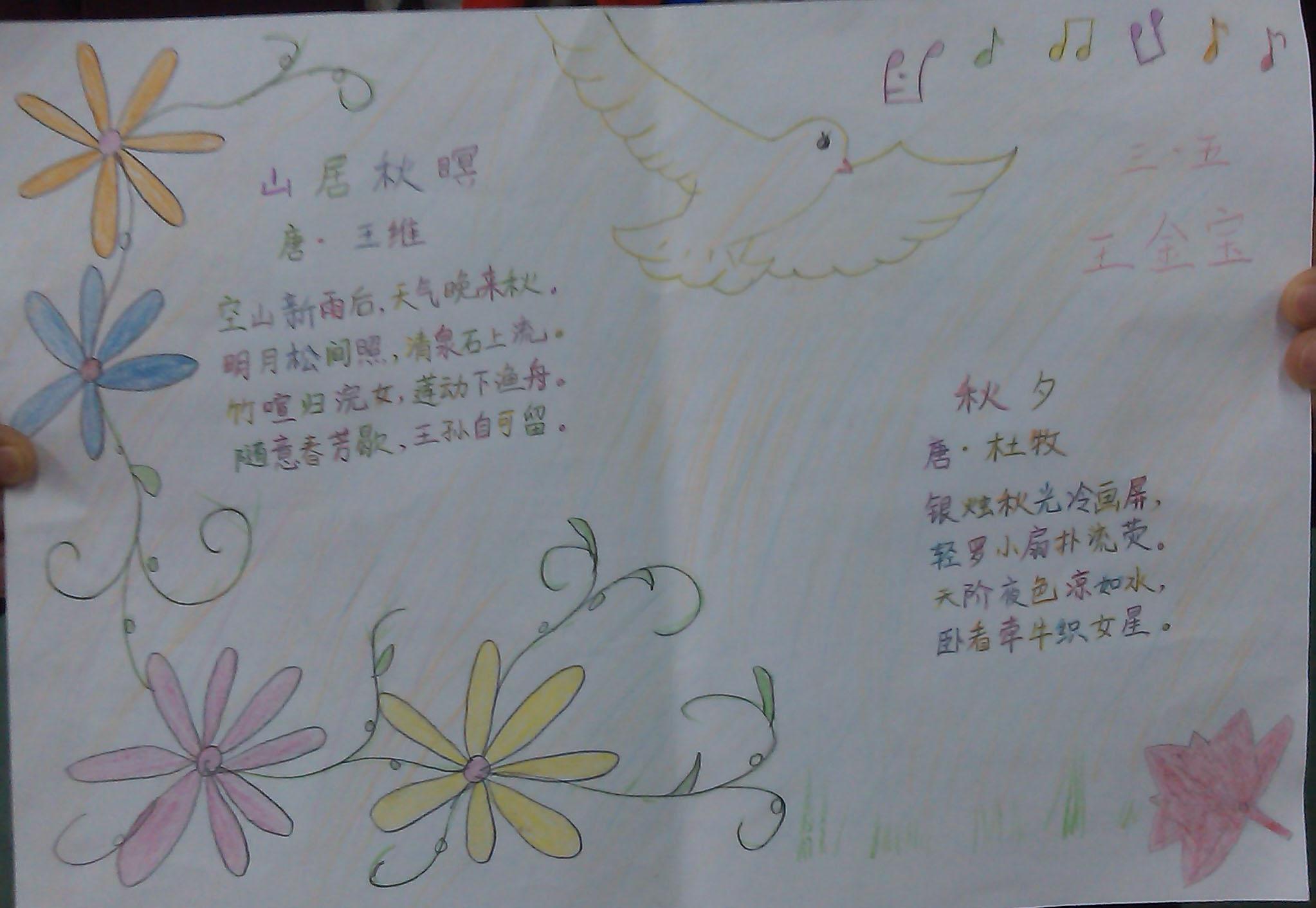 春天的树儿童画欣赏_可可简笔画