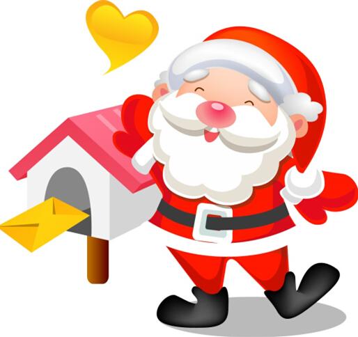 圣诞节的图片:圣诞老人