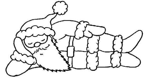 圣诞老人简笔画分步画法