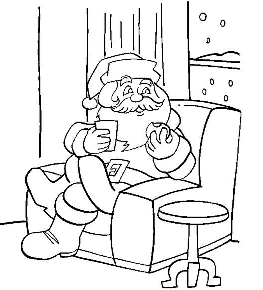 英语网整理圣诞节图片:圣诞老人简笔画,卡通圣诞老人图片,q版圣诞老人