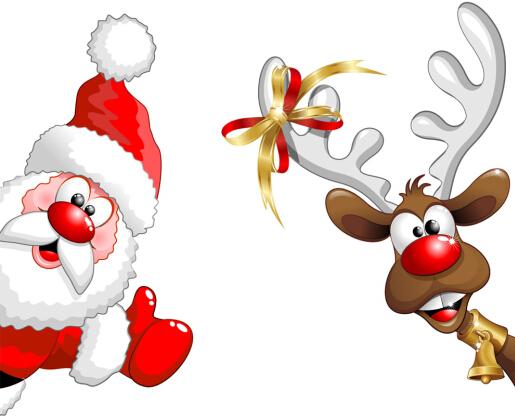 圣诞老人图片q版