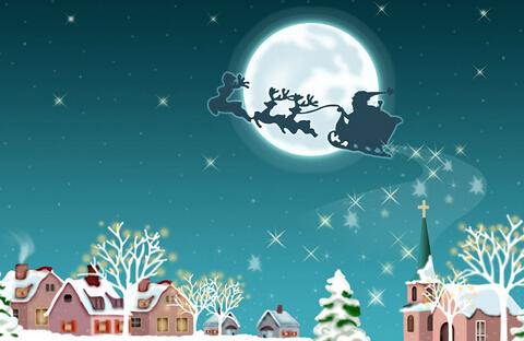 圣诞节快乐英文怎么写?