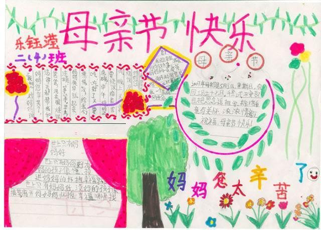 关于母亲节的手抄报资料:各国习俗