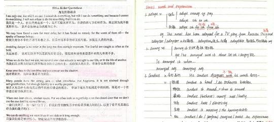 2014衡水中学文科学霸高中英语高考状元笔记一