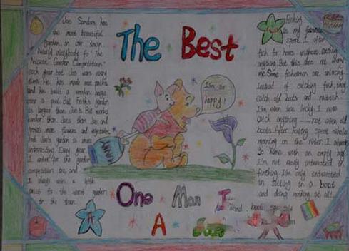 小学生暑假英语手抄报内容选:the best_语法_奥数网图片