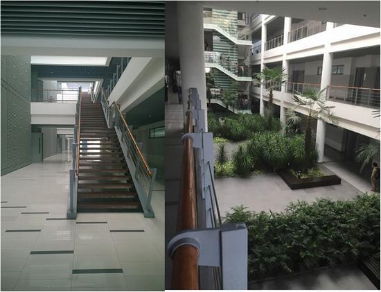 同济大学的教学楼内环境