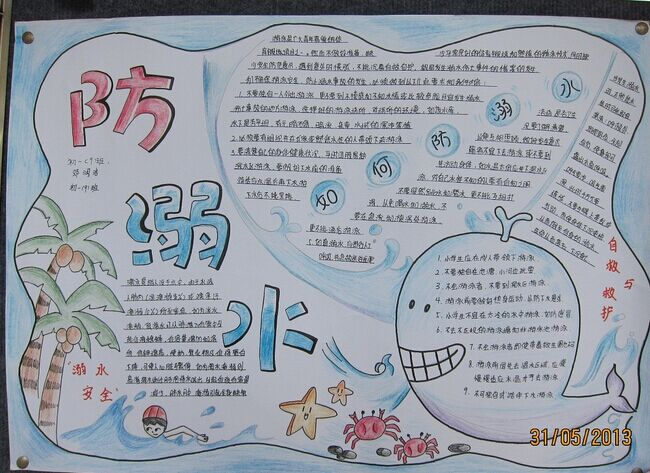 关于溺水简笔画内容图片展示_关于溺水简笔画图片