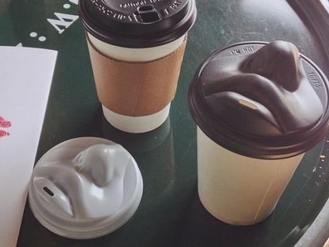 单身狗必备:可以和你接吻的咖啡杯