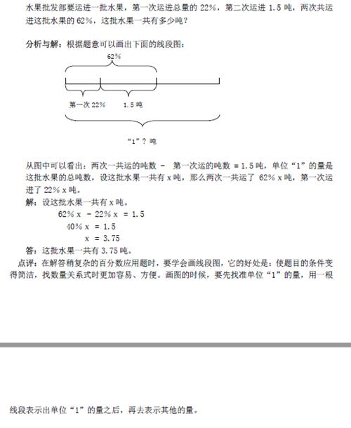列方程解百分数应用题考点透视