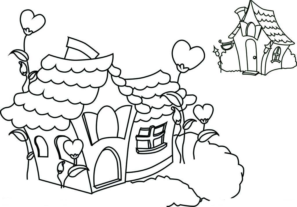 简笔画大全 小房子 教程 步骤