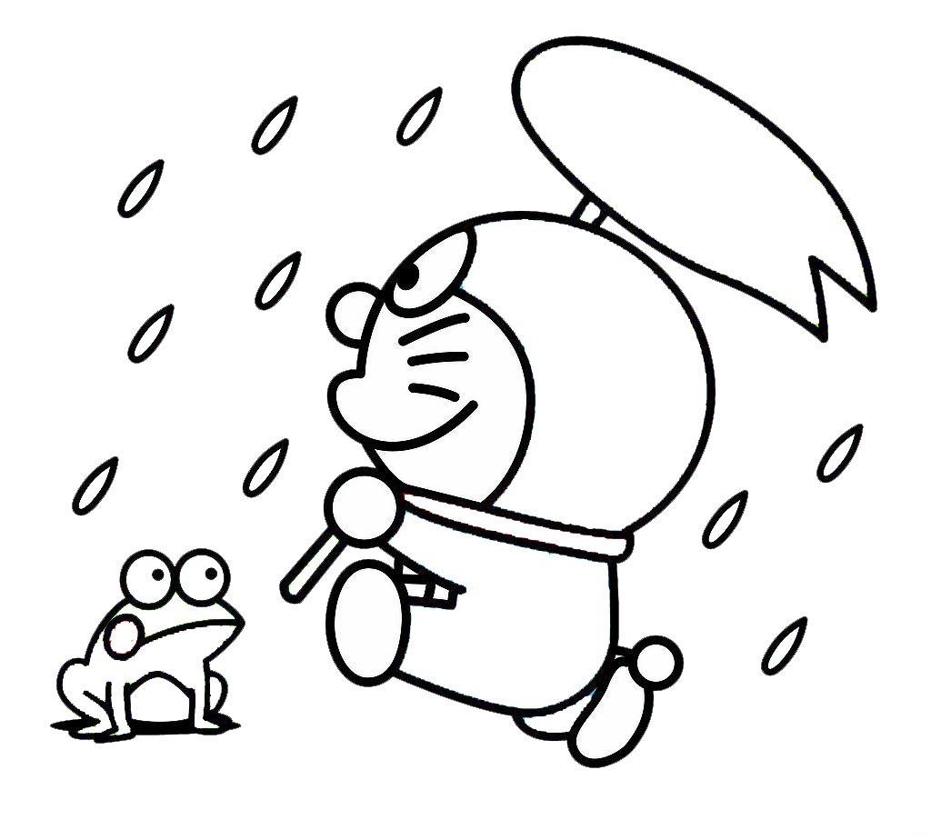 哆啦A梦和青蛙