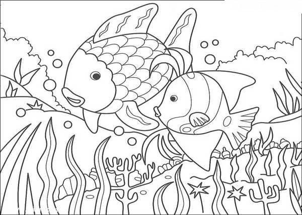如鱼得水简笔画