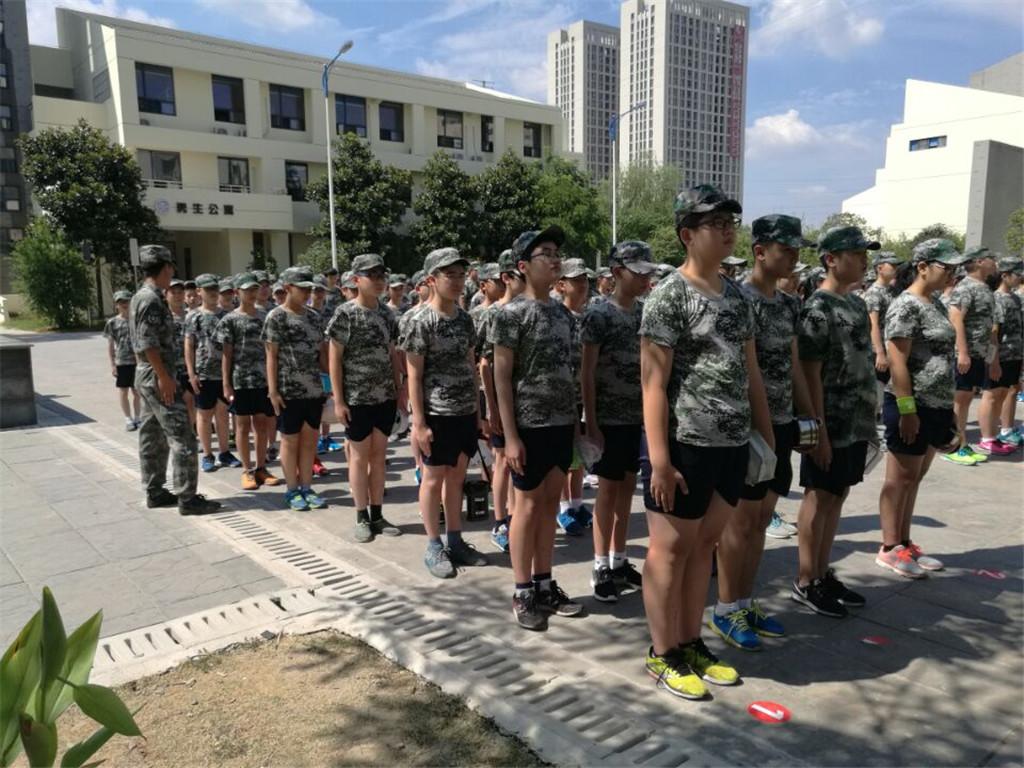 2016南京树人军训